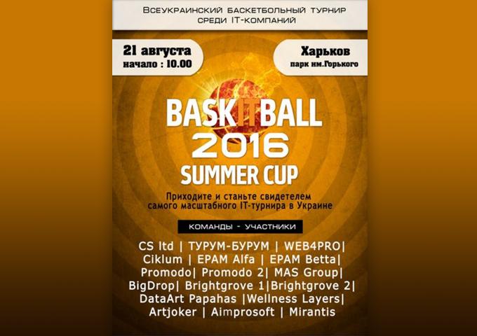 Команда Турум-бурум — баскетбольный дебют