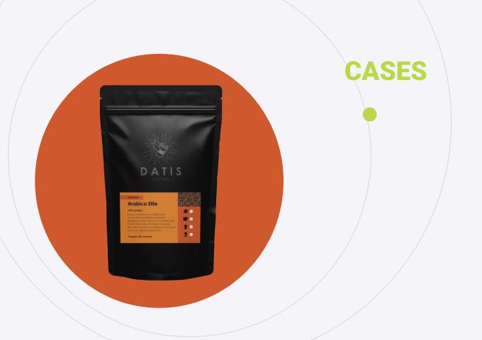 Разработка интернет-магазина на MODx для кофейного бизнеса  Datis