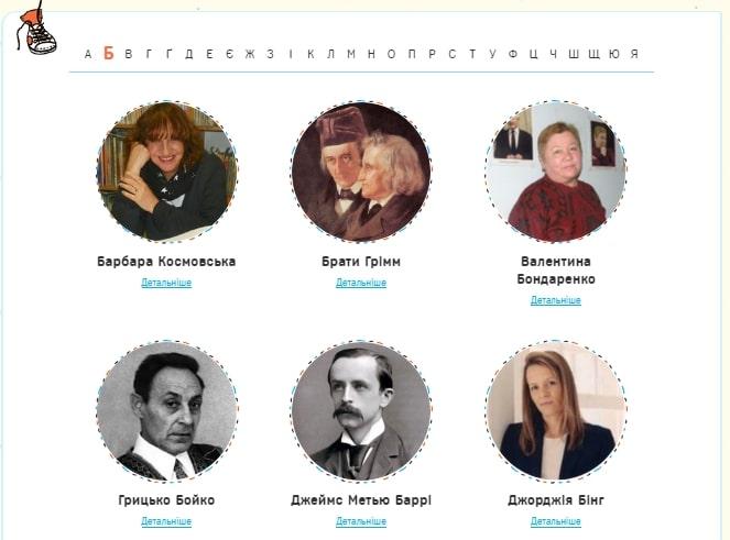 Расширенный алфавитный фильтр авторов